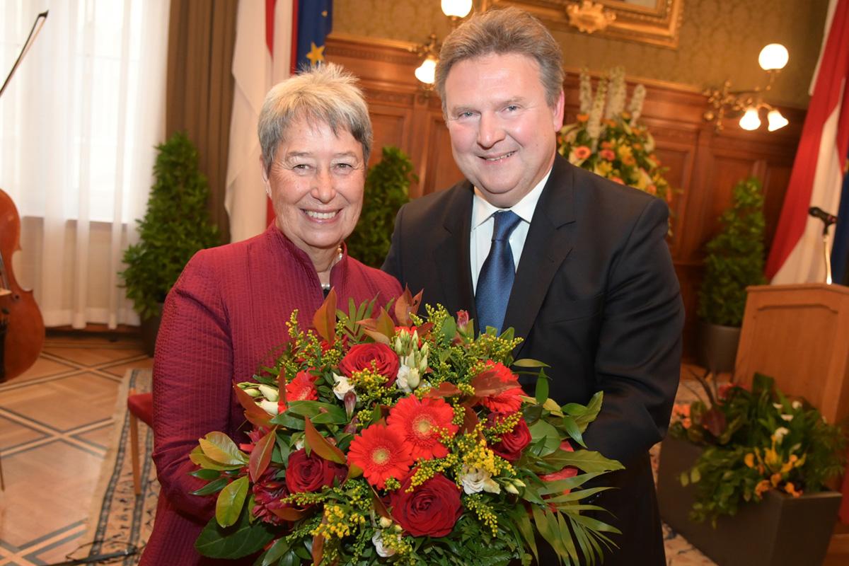 Stadt Wien-Ehrung für Margit Fischer
