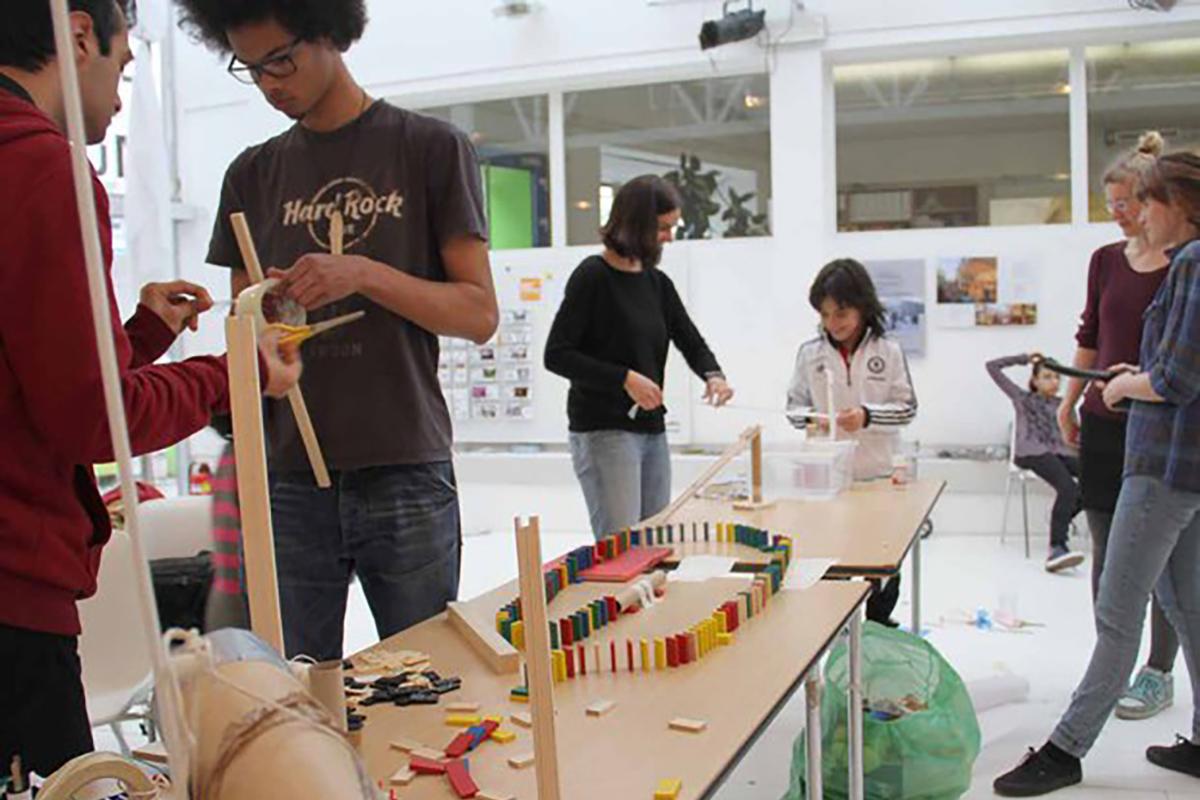 Tinkering Workshops im WR (Tinkering EU)