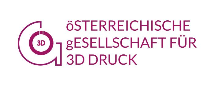 Logo Österreichische Gesellschaft für 3D Druck