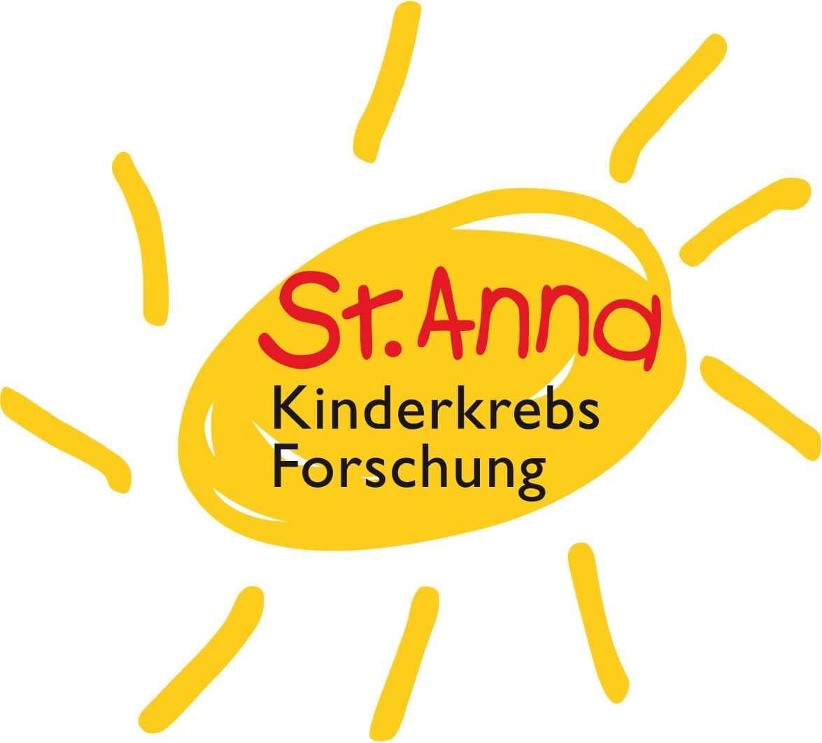 Logo St. Anna Kinderkrebsforschung
