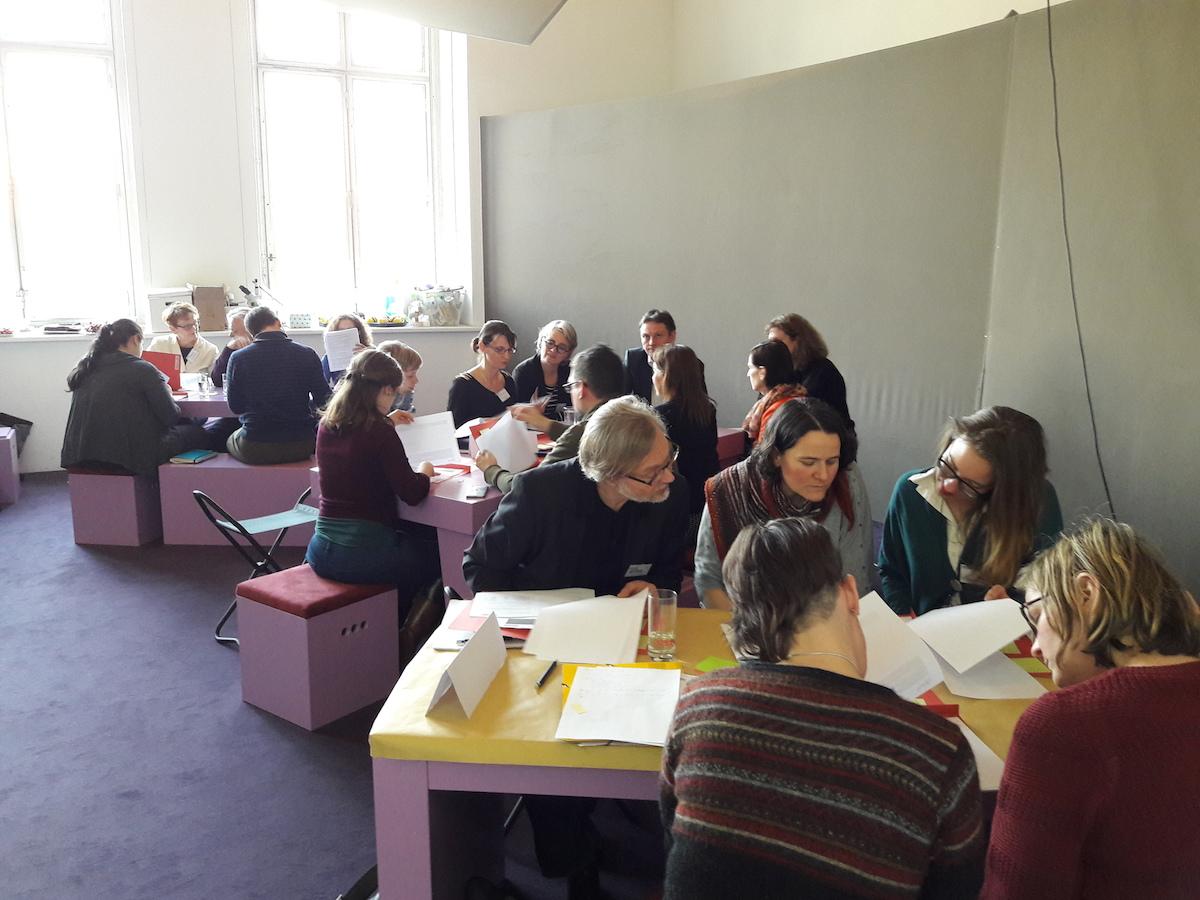 Hypatia-Vernetzungstreffen- Gesprächsrunde