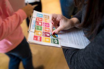 In 17 Zielen um die Welt. Mit dem ScienceCenter-Netzwerk die Nachhaltigkeitsziele der UNO entdecken.