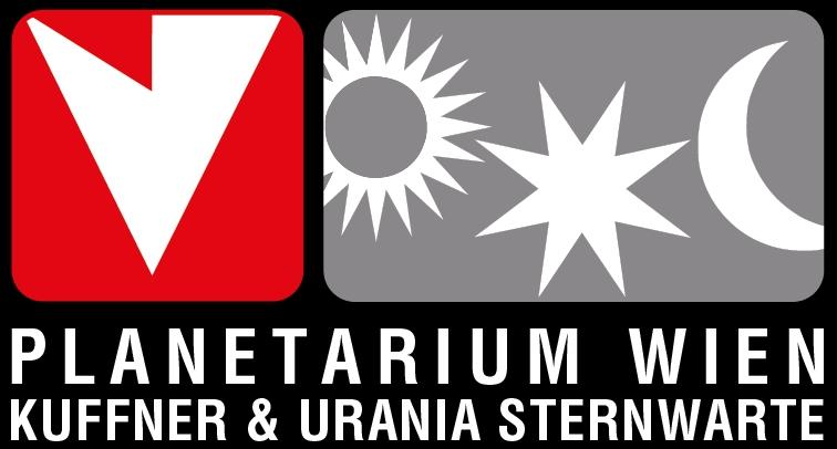Logo Planetarium Wien, Kuffner & Urania Sternwarte