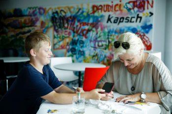 Pimp your Shirt Sommerferienspiel 2016 © Kapsch/Roland Rudolf