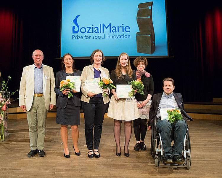 Sozialmarie 2014_Preisverleihung