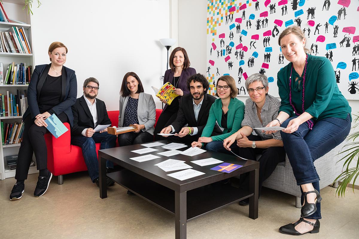 Das Team des Vereins ScienceCenter-Netzwerk
